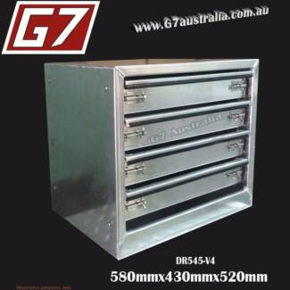 Drawer Units - drawers to suit aluminium toolboxes Utes Roller