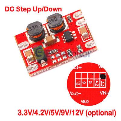 Dc-dc 2.5v-15v To 3.3v4.2v5v9v12v Step Up Down Module Automatic Buck-boost
