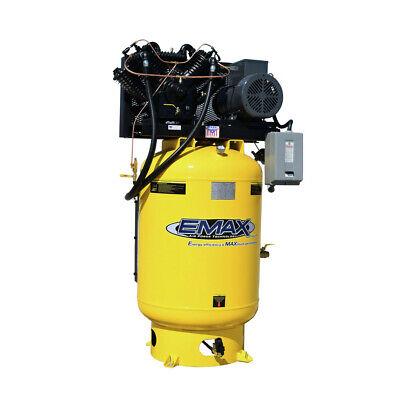 Emax Esp10v120v1 10 Hp 120 Gal. Vertical Industrial Electric Air Compressor New