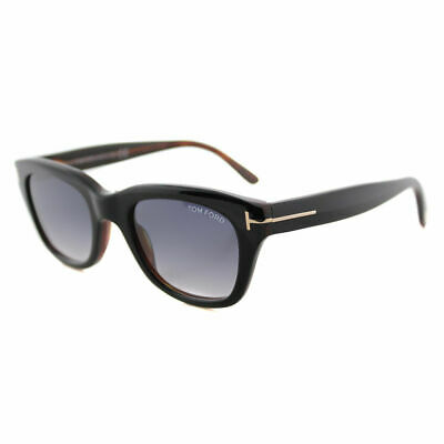 Authentic Tom Ford Snowdon FT0237 TF 237 05B Black Plastic Sunglasses (Tom Ford Snowdon Sunglasses Black)