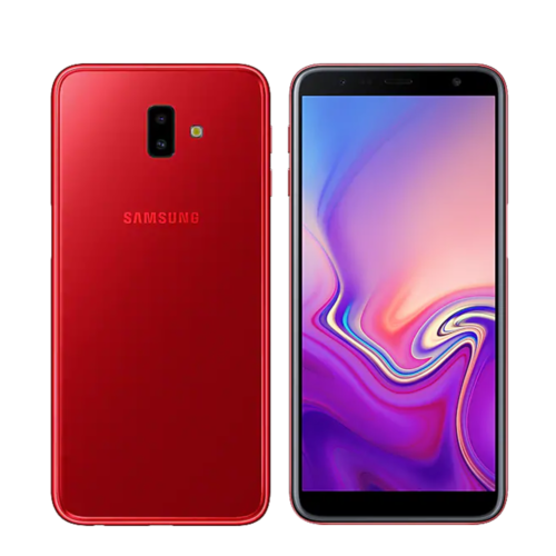 Samsung Galaxy J6+ Plus  64GB Dual SIM 6.0in 8MP 4GB RAM Red