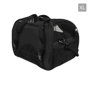Portable Pet Carrier with Safety Leash - Black Brisbane City Brisbane North West Preview