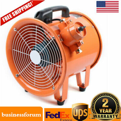 Atex 12 Explosion Proof Rated Ventilator Axial Fan Extractor 3720mh Us Stock