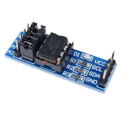 2pcs At24c256 Serial I2c Interface Eeprom Data Storage Module For Arduino Pic