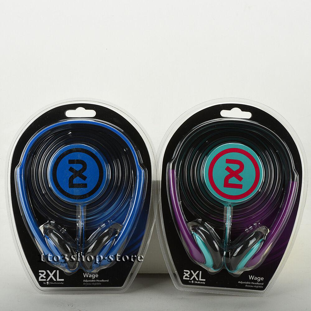 Skullcandy 2XL Wage Light Weight Stereo Headphones w/Full Ad