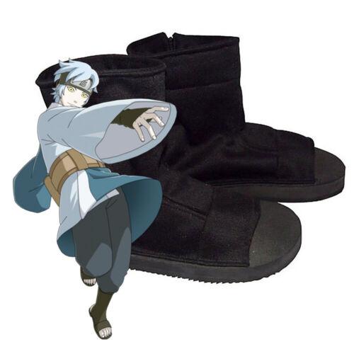 Naruto Uchiha Sasuke Ninja Shoes Halloween Cosplay Costume Size W (10.5) / M (9)