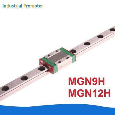 Mgn9h Mgn12h Linear Sliding Guide Rail With Block 150mm - 600mm Cnc 3d Printer