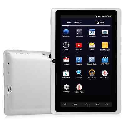 "7"" Android 4.4 HDMI Quad Core Dual Camera 16GB Tablet PC WiFi EU white HOT"