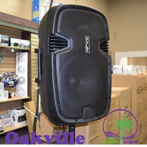 "PYLE PPHP122BMU 12"" 800 Watt Portable Bluetooth Rechargeable Batteries PA DJ  Loudspeaker Speaker System"