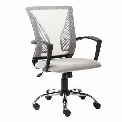 Ergonomic Executive Mesh Chair Office Computer Desk Swivel Chair Mid-back Seat