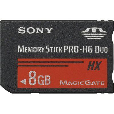 Sony 8GB 16GB 32GB High Speed MS PRO DUO-HG DUO HX R50MB/s W15MB/s Memory (Sony Memory Stick Pro Hg Duo Hx)