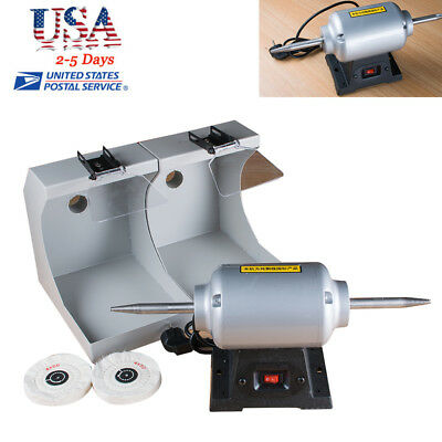 Usa Dental Polishing Lathe Dental Lab Equipment Dentist 3000rpm Safe Use