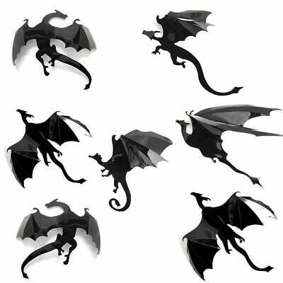 3D DRAGON Wall Stickers: 7 PCS Set: Game of Thrones GOT Mother Of Dragons Decor](Game Of Thrones Wholesale)