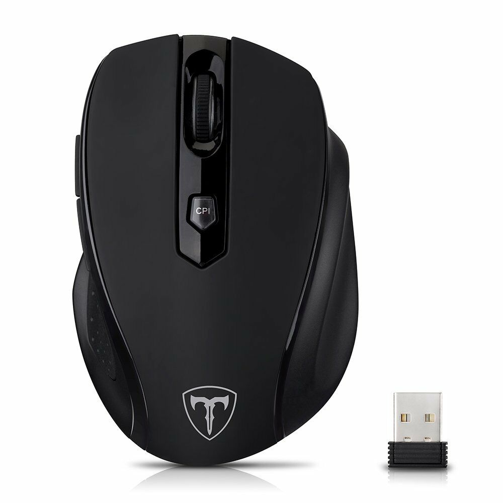 2.4GHz 2400 DPI Wireless Optical Mouse Mice AAA   USB Receiver for PC Win Mac