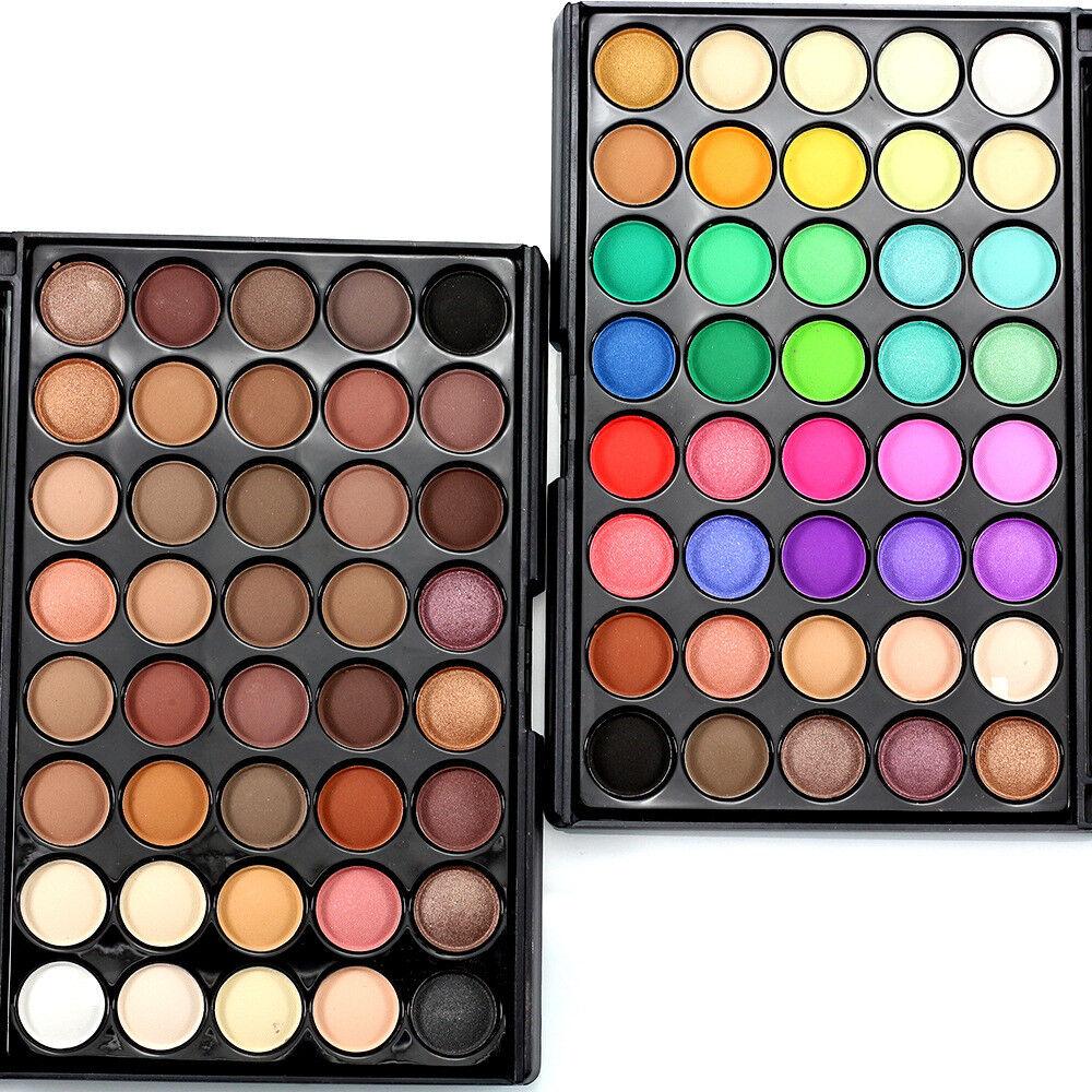 40 Color Cosmetic Matte Eyeshadow Cream Eye Shadow Makeup Pa