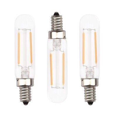 2W E12 T6 Tube LED E12 Candelabra Base T20 Edison Bulb 20W Halogen Replacement Candelabra Base Replacement Bulb