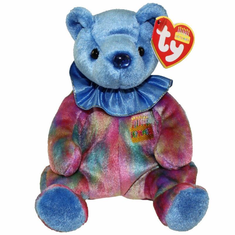 TY Beanie Baby - SEPTEMBER the Birthday Bear (7.5 inch) - MWMTs Stuffed Animal
