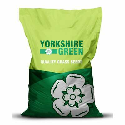 GRASS SEED LAWN Yorkshire Green Prize Lawn Grass Mix 10kg (GRA216)