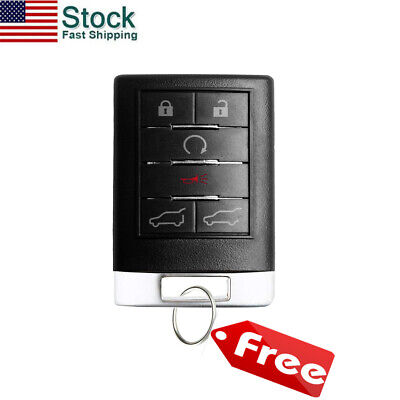 Keyless Entry Remote Control Car Key Fob Replacement for Cadillac Escalade EXT