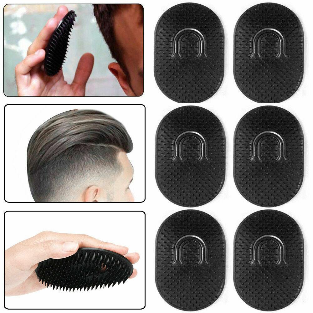 6pcs black pocket comb brush hair men