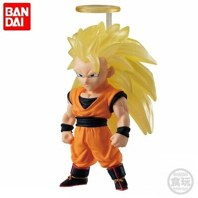 Bandai Dragon Ball Z Super Adverge 10 Mini Figure Toy Super Saiyan 3 Son