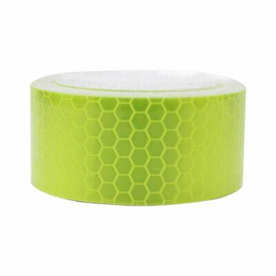 Green Reflective Conspicuity Tape 2″X9.8′ DOT-C2 Safe Warning Sign Car Truck RV for sale  Shipping to Canada