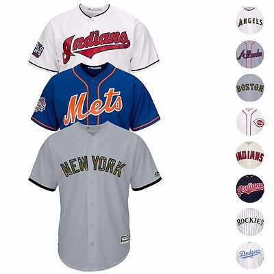MLB Majestic Current Official Cool Base Team Home Away Alt Jersey Men's Majestic Mens Cool Base