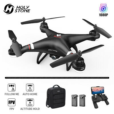 Holy Stone HS110G GPS RC Drones with 1080P HD Camera Hover 2 Battery and Case US