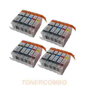 20 INK FOR CANON % CLI-8 PGI-5 PRINTER PIXMA MX-850 MP-500 MP-530 MP-600 MP-610