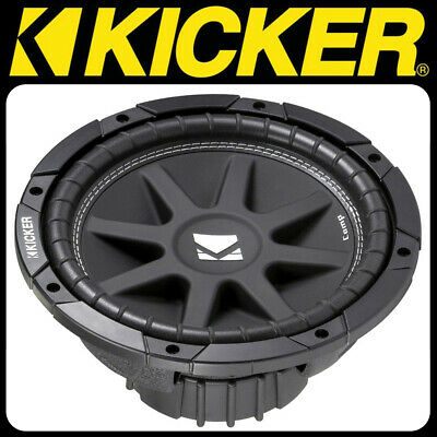 KICKER Comp Serie C104 4 Ohm 25cm Subwoofer 150 W. RMS Bass Woofer Chassis 4 Ohm Comp-serie