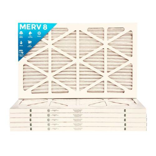 14x24x1 MERV 13 Pleated AC Furnace Air Filters 6 Pack $8.99 each