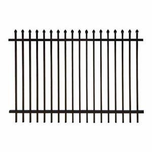 Heavy Duty Security Fence Fencing Spear Top Black Panel Geelong Region Preview