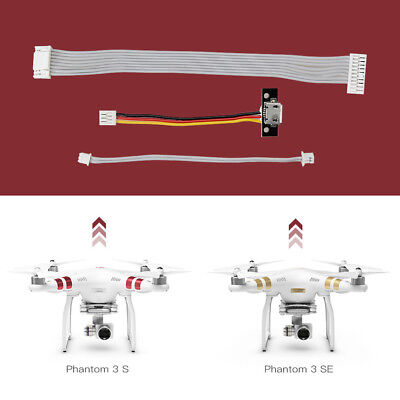 For DJI Phantom 3 Standard & 3 SE Drone Replacement FPV Cable Wire Parts