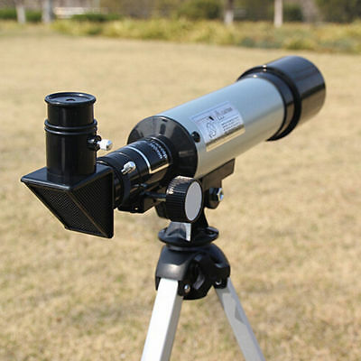 360x50mm Astronomical Telescope Tube Refractor Monocular Spotting Scope+Tripod E