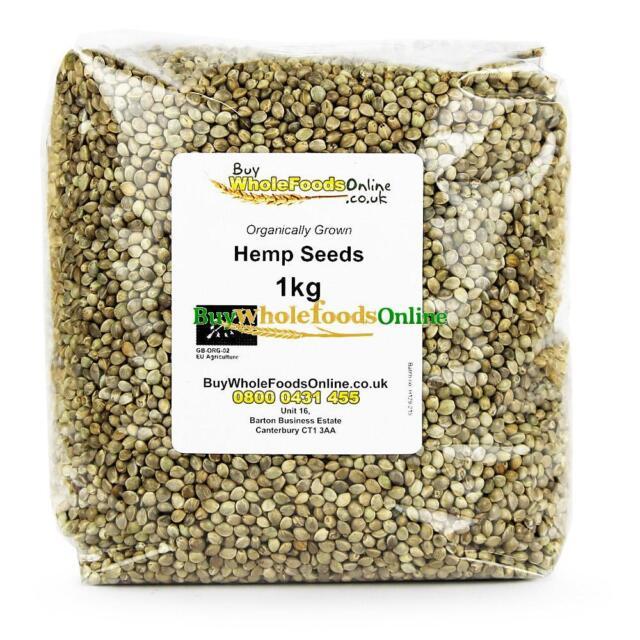 Organic Hemp Seeds 1kg