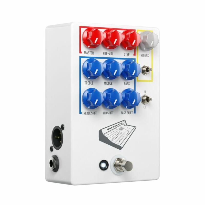 JHS Colour Box V2 PREAMP / EQ / OVERDRIVE / DISTORTION / FUZZ / DI BOX