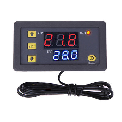 Ac 110v-220v 10a W3230 Lcd Thermostat Temperature Controller Meter Regulator