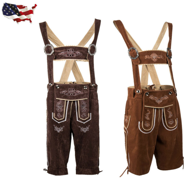 Adult German Bavarian Deluex Lederhosen Men