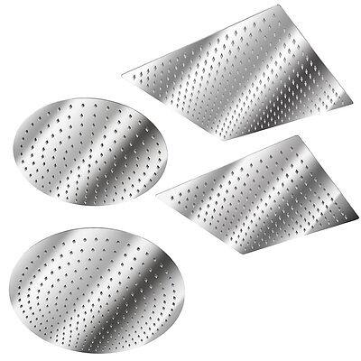 Soffione doccia a pioggia moderno doccione in acciaio inox quadrata o Rotonda