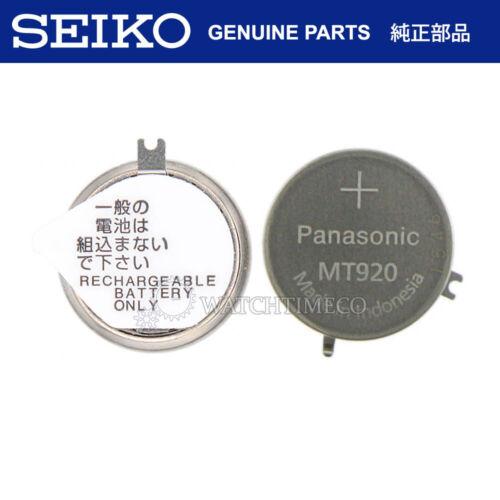 Seiko Solar Watch Capacitor Battery 302334T f/ V172 V174 V175 V176 VS75