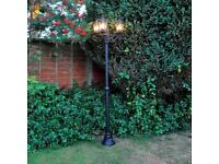 Victorian Style 3 Head Lamp Post (FREE LOCAL DELIVERY)