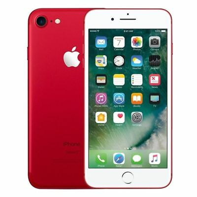 Apple iPhone 7 (PRODUCT)RED - 128GB (GSM Unlocked, AT&T, T-Mobile) 4G Smartphone