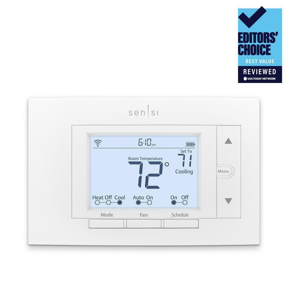 SENSI Emerson Sensi Wi-Fi Thermostat for Smart Home ST55 New