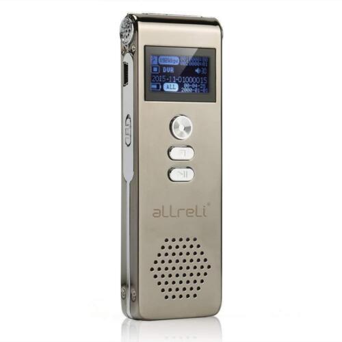 Digital Voice Recorder, 8GB Digitales Diktiergerät SPY Audio...