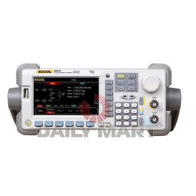 New Rigol Functionarbitrary Waveform Generator Dg5101 100mhz 128mpts 1ch