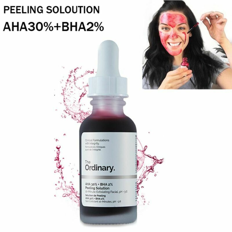 The Ordinary AHA 30% + BHA 2% Peeling Solution 30ml 10mins E