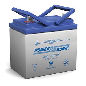 Power-Sonic 12V 35AH Light Trolling Motor Sealed Battery Sevylor Minn Kota AGM