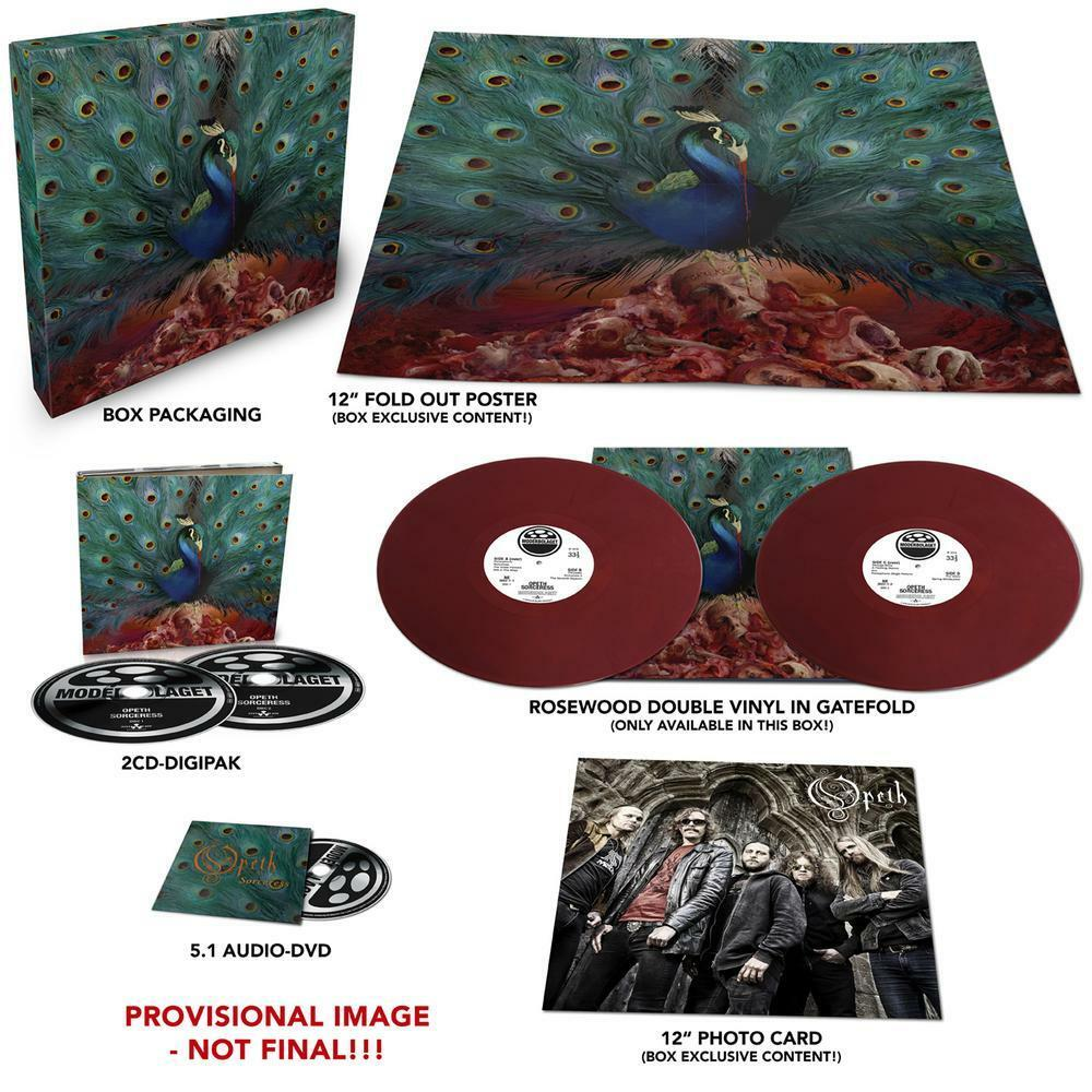 OPETH Sorceress box set 2cds, vinyl, poster photocard 5.1 dvd mix IN STOCK