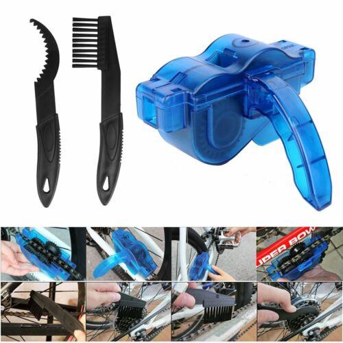 3 tlg Fahrradkettenreiniger Reinigungsbürsten Set Fahrradreinigung Fahrradpflege