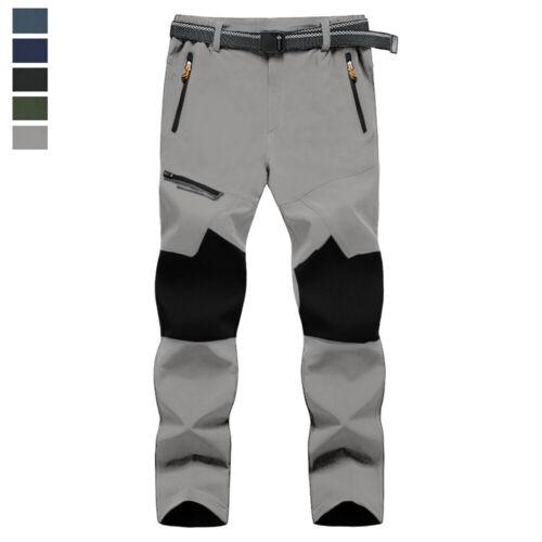 Men's Waterproof Hiking Pants Quick Drying Cargo Tactical Ou
